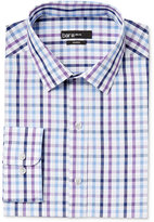 Bar III Men's Slim-Fit Purple Multi-Check Dress Shirt, Only at Macy's