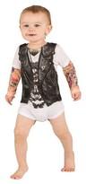 Faux Real Boys' Baby Biker Romper Costume