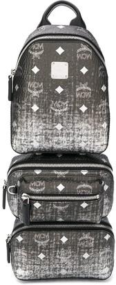 MCM Triple Bag backpack