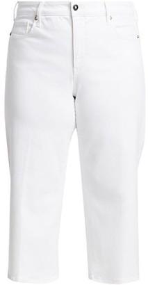 NYDJ, Plus Size Wide Leg Capri Jeans