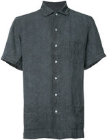 Massimo Alba short sleeve shirt - men - Linen/Flax - L