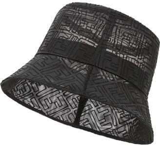 Fendi FF pattern bucket hat