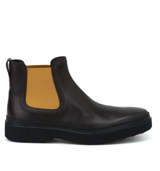 Tod's Contrast Chelsea Boots