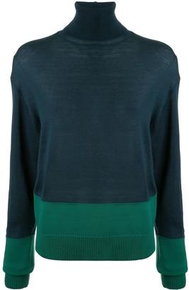 Y's turtle neck sweater
