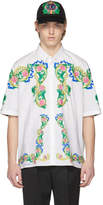 Versace White New Signature Print Shirt
