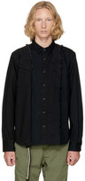 Sacai Black Denim Shirt