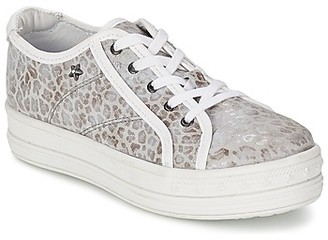 Ikks AUDREU girls's Shoes (Trainers) in Grey