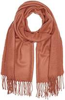 Pieces Women's KIAL LONG SCARF NOOS Scarf, Red (Brick Red)