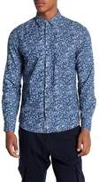 Heritage Long Sleeve Print Slim Fit Woven Shirt