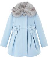 Monsoon Baby Belle Pale Blue Coat