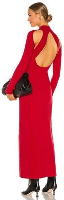 Victor Glemaud Long Sleeve Turtleneck Dress