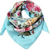 Dolce & Gabbana Floral Printed Silk Scarf