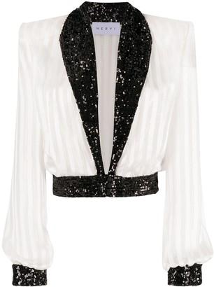 NERVI Adele silk blouse