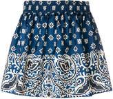 RED Valentino paisley print mini skirt