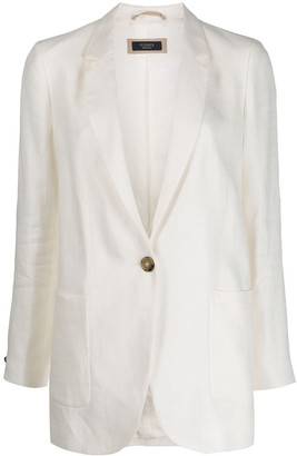 Peserico Loose-Fit Single-Breasted Blazer