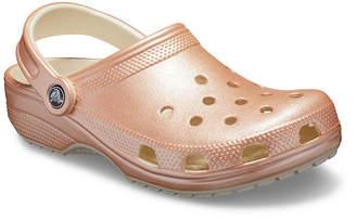 Crocs Unisex Adult Classic Metallic Slip-on Round Toe Clogs