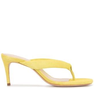 Schutz Thong Mule Sandals