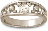 Disney Diamond Mickey Mouse Icon Ring for Men - 14K White Gold