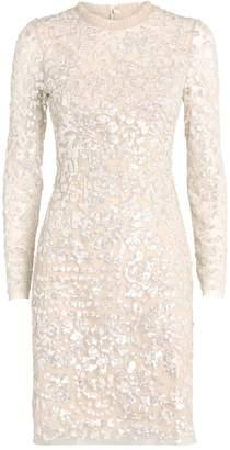 Needle & Thread Tempest Sequin Mini Dress