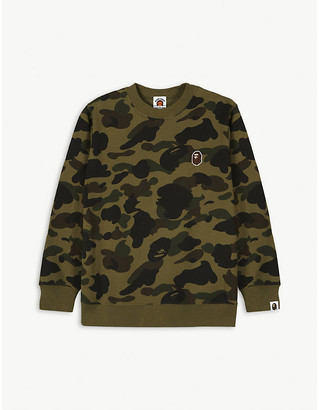 A Bathing Ape 1st Camo cotton jumper 4-10 years