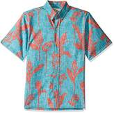 Reyn Spooner Men's Walea Classic Fit, Button Down, Floral Hawaiian Shirt
