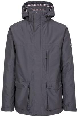 Trespass Vauxelly Rain Jacket - Dark Grey