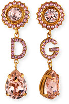 Dolce & Gabbana Crystal Drop Earrings