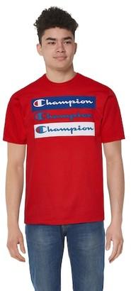 Champion Graphic Short Sleeve T-Shirt - Red / White