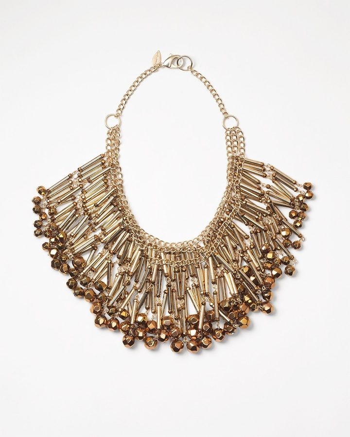 Coldwater Creek Chandelier statement necklace