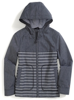 Tommy Hilfiger Final Sale- Stripe Hooded Jacket