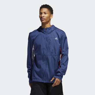 adidas Own the Run Hooded Wind Jacket
