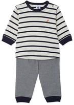 Petit Bateau Baby boys striped pyjamas