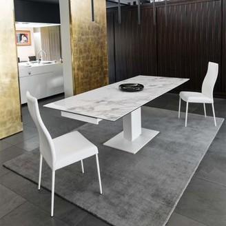 Calligaris Echo Extending Pedestal Table - CS/4072-R_P2C_P94_P94