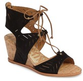 Dolce Vita Women's Langly Perforated Wedge Sandal