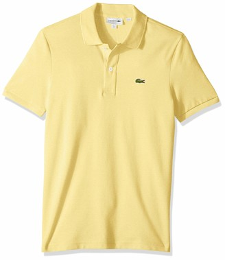 Lacoste Men's Discontinued Classic Pique Slim Fit Short Sleeve Polo Shirt