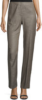 Lafayette 148 New York Barrow Wool-Blend Pants, Granite