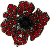 Sonia Rykiel rhinstone anemone pins