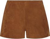 Rag & Bone Georgie suede shorts