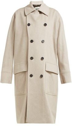 BEIGE Connolly - Double-breasted Wool Coat - Womens