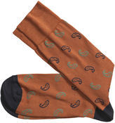 Johnston & Murphy Mini Paisley Socks