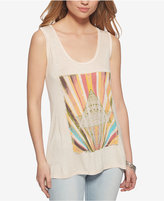 Jessica Simpson U-Back Graphic Tank Top