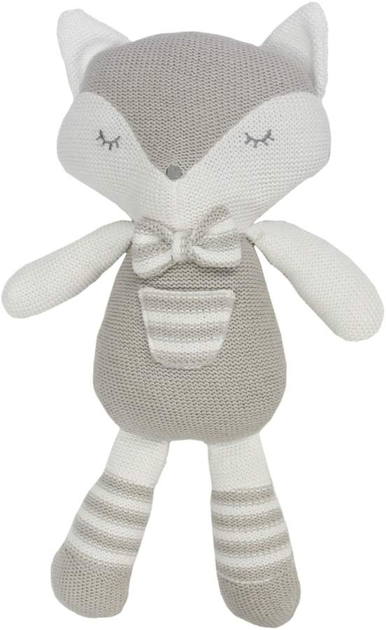 Living Textiles Baby Charley The Fox Plush Toy