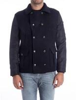 Alessandro Dell'Acqua Men's Blue Wool Jacket.