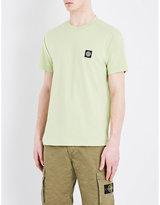 Stone Island Logo-appliqué Cotton-jersey T-shirt