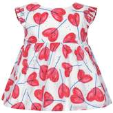 Catimini CatiminiBaby Girls White & Red Floral Top