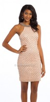 Camille La Vie Glitter Beaded Cocktail Dress