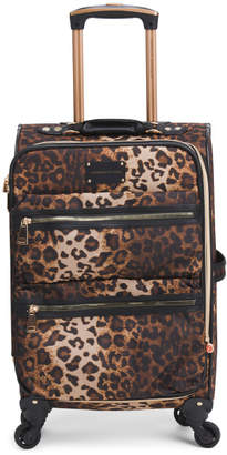 21in Leopard Softside Expandable Carry-on