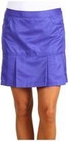 adidas Fashion Performance Pleated Skort (Purple/Royal) - Apparel