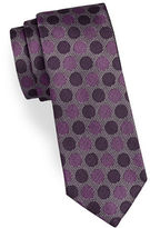 Kenneth Cole Reaction Spotted Silk Tie