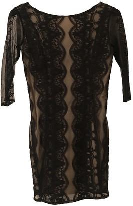 Patrizia Pepe Black Lace Dress for Women